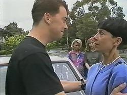 Matt Robinson, Helen Daniels, Lee Maloney, Hilary Robinson in Neighbours Episode 1148