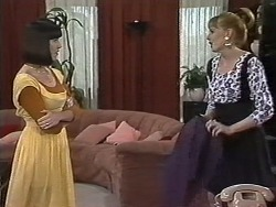 Kerry Bishop, Melanie Pearson in Neighbours Episode 1149