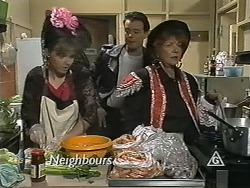 Lee Maloney, Matt Robinson, Gloria Lewis in Neighbours Episode 1149
