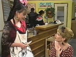 Lee Maloney, Matt Robinson, Gloria Lewis, Melanie Pearson in Neighbours Episode 1149
