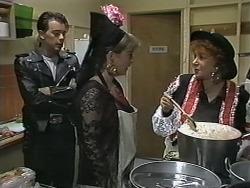 Matt Robinson, Lee Maloney, Gloria Lewis in Neighbours Episode 1149