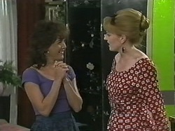 Christina Alessi, Melanie Pearson in Neighbours Episode 1149
