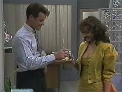 Paul Robinson, Caroline Alessi in Neighbours Episode 1150