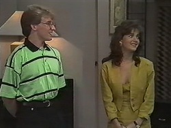 Kelvin Stubbs, Caroline Alessi in Neighbours Episode 1150