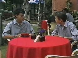 Josh Anderson, Todd Landers in Neighbours Episode 1150