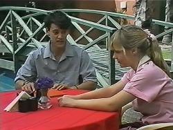 Josh Anderson, Melissa Jarrett in Neighbours Episode 1150