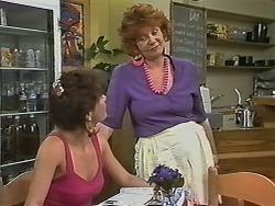 Christina Alessi, Gloria Lewis in Neighbours Episode 1150