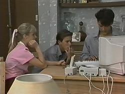 Melissa Jarrett, Todd Landers, Josh Anderson in Neighbours Episode 1150
