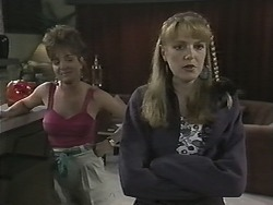 Christina Alessi, Melanie Pearson in Neighbours Episode 1151