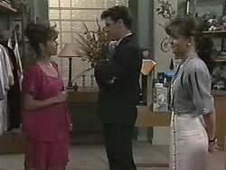 Christina Alessi, Paul Robinson, Caroline Alessi in Neighbours Episode 1151