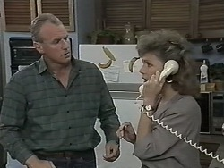 Jim Robinson, Beverly Robinson in Neighbours Episode 1151