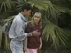 Josh Anderson, Melissa Jarrett in Neighbours Episode 1152