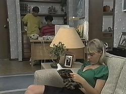 Todd Landers, Josh Anderson, Melissa Jarrett in Neighbours Episode 1152