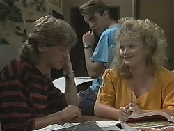Ryan McLachlan, Nick Page, Sharon Davies in Neighbours Episode 1153