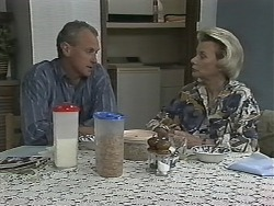 Jim Robinson, Helen Daniels in Neighbours Episode 1153