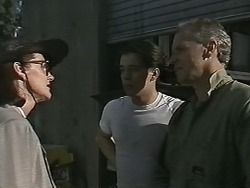 Dorothy Burke, Matt Robinson, Jim Robinson in Neighbours Episode 1153
