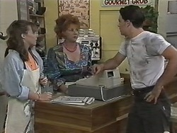 Lee Maloney, Gloria Lewis, Matt Robinson in Neighbours Episode 1153