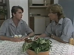 Nick Page, Ryan McLachlan in Neighbours Episode 1153