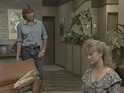 Ryan McLachlan, Sharon Davies in Neighbours Episode 1154