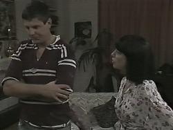 Joe Mangel, Kerry Bishop in Neighbours Episode 1155