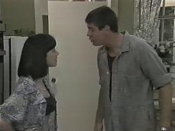 Kerry Bishop, Joe Mangel in Neighbours Episode 1155