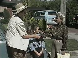 Dorothy Burke, Lochy McLachlan, Helen Daniels in Neighbours Episode 1155