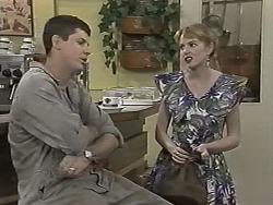 Joe Mangel, Melanie Pearson in Neighbours Episode 1155