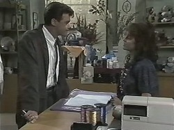 Paul Robinson, Christina Alessi in Neighbours Episode 1155