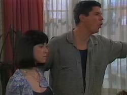Kerry Bishop, Joe Mangel in Neighbours Episode 1156