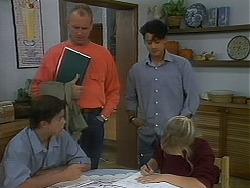 Todd Landers, Jim Robinson, Josh Anderson, Melissa Jarrett in Neighbours Episode 1156