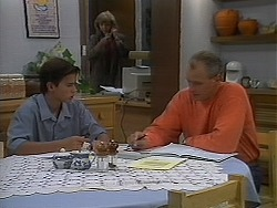 Todd Landers, Beverly Marshall, Jim Robinson in Neighbours Episode 1156