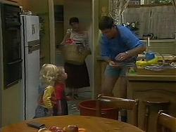 Sky Mangel, Jamie Clarke, Kerry Bishop, Joe Mangel in Neighbours Episode 1156