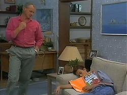 Jim Robinson, Todd Landers in Neighbours Episode 1156