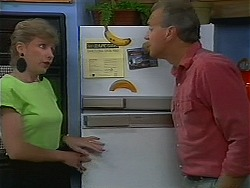 Beverly Marshall, Jim Robinson in Neighbours Episode 1156