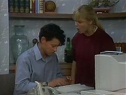 Josh Anderson, Melissa Jarrett in Neighbours Episode 1156