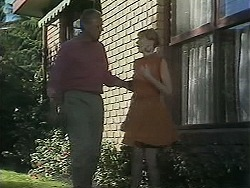 Jim Robinson, Melanie Pearson in Neighbours Episode 1157