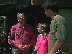 Jim Robinson, Lee Maloney, Matt Robinson in Neighbours Episode 1157