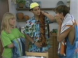 Melissa Jarrett, Josh Anderson, Todd Landers in Neighbours Episode 1157