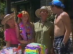 Sharon Davies, Melanie Pearson, Helen Daniels, Nick Page in Neighbours Episode 1157