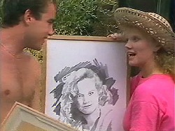 Nick Page, Sharon Davies in Neighbours Episode 1157