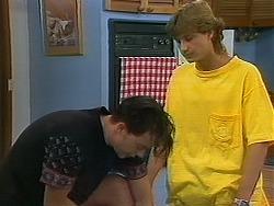 Matt Robinson, Ryan McLachlan in Neighbours Episode 1157