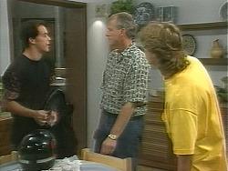 Matt Robinson, Jim Robinson, Ryan McLachlan in Neighbours Episode 1158