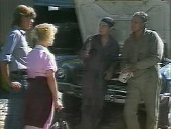 Ryan McLachlan, Sharon Davies, Matt Robinson, Jim Robinson in Neighbours Episode 1158