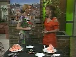 Melanie Pearson, Caroline Alessi in Neighbours Episode 1158