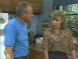 Jim Robinson, Beverly Marshall in Neighbours Episode 1158