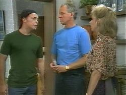 Matt Robinson, Jim Robinson, Beverly Marshall in Neighbours Episode 1158