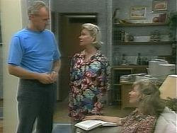 Jim Robinson, Helen Daniels, Beverly Marshall in Neighbours Episode 1158