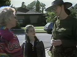 Helen Daniels, Lochy McLachlan, Dorothy Burke in Neighbours Episode 1160