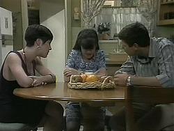 Kerry Bishop, Natasha Kovac, Joe Mangel in Neighbours Episode 1160