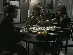 Paul Robinson, Christina Alessi, Caroline Alessi in Neighbours Episode 1160